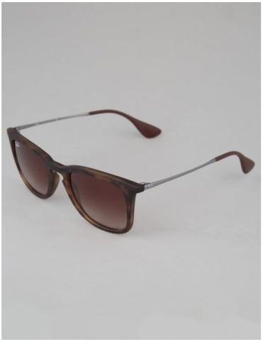 Youngster Sunglasses - Dark Rubber Havana // Brown