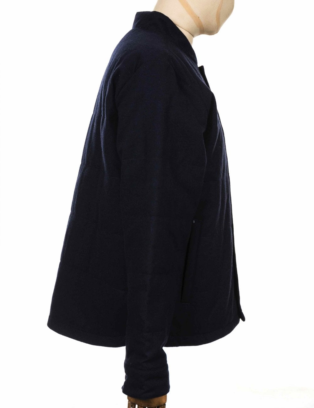 77be0721b Recycled Wool Bomber Jacket - Classic Navy