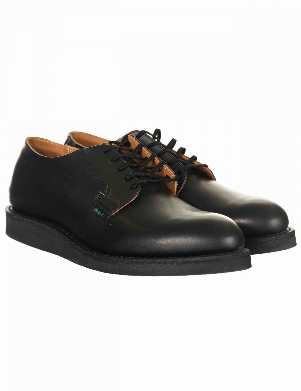 88e21f29 Red Wing 101 Heritage Work Postman Oxford Shoe - Black Chaparral ...