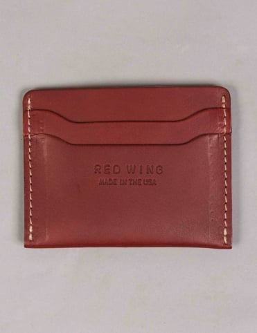 95011 Leather Card Holder - Oro Russet Frontier