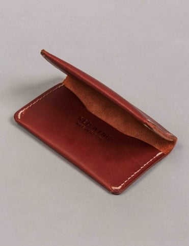95013 Leather Card Holder Wallet - Oro Russet Frontier