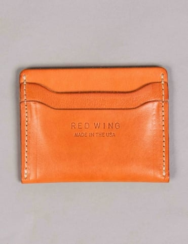 95027 Leather Card Holder - London Vegetable Tan