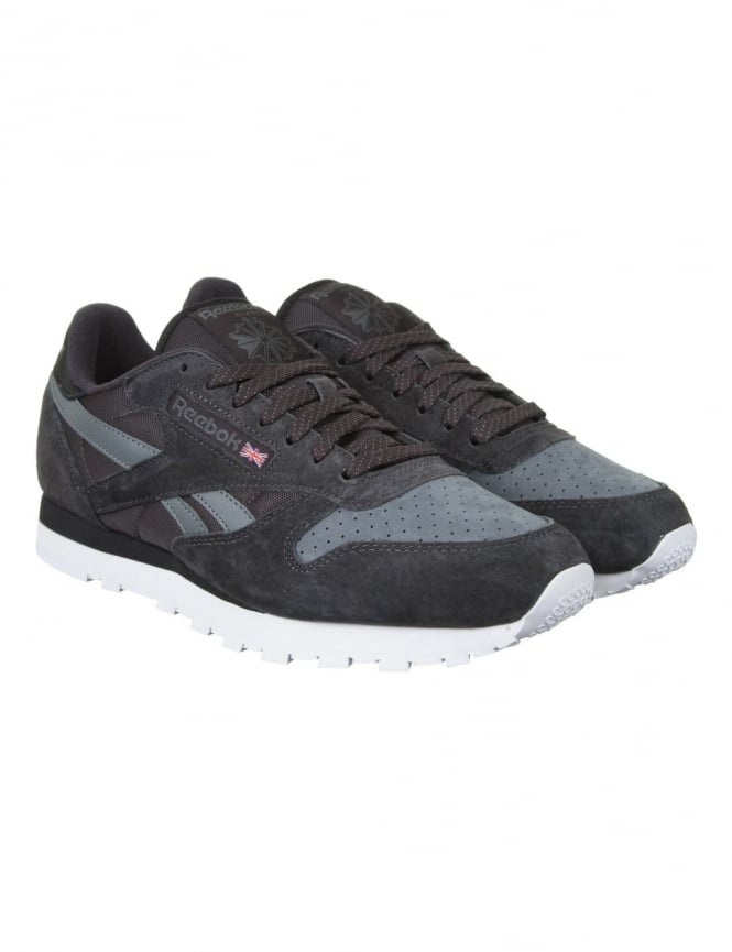 Reebok CL Leather NP Shoes - Coal/Alloy