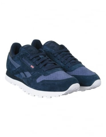 Reebok CL Leather NP Shoes - Navy/Midnight