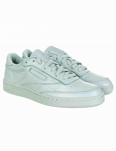 0ad3b6c53b5007 Reebok Club C 85 ELM Shoes - Sea Grey (Elemental Pack)