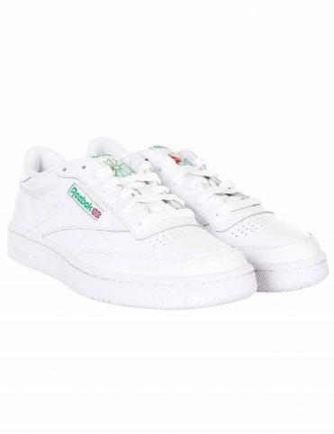 682ac8ca947 Reebok Club C 85 Trainers - White Green