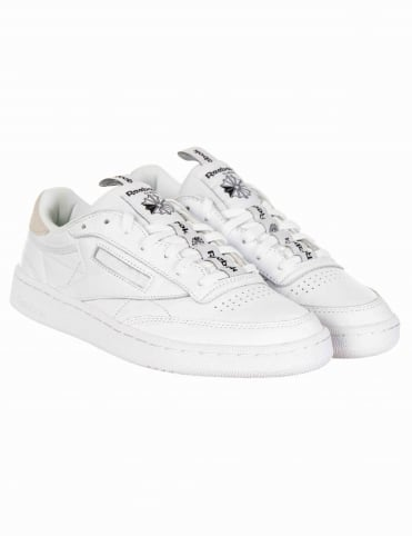 Club C IT Shoes - White/Skull Grey