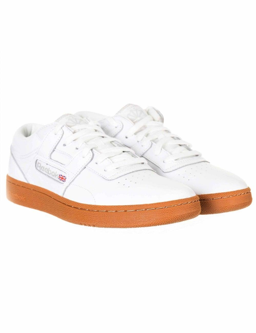 c75f521badade Reebok Club Workout MU Trainers - White Skull Grey - Footwear from ...