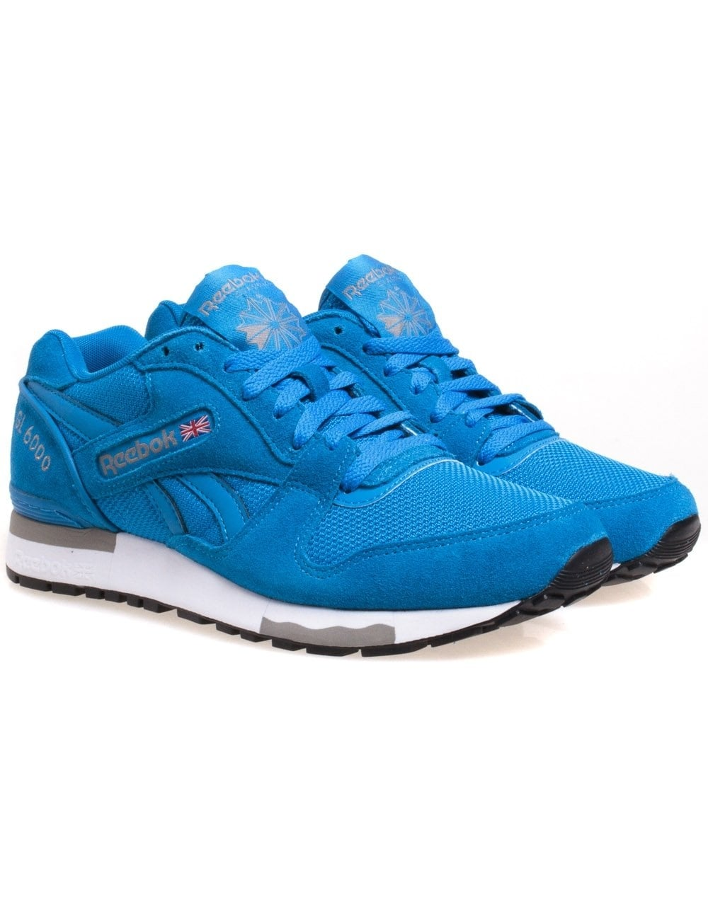 reebok gl 6000 blue cement reebok from fat buddha store uk. Black Bedroom Furniture Sets. Home Design Ideas