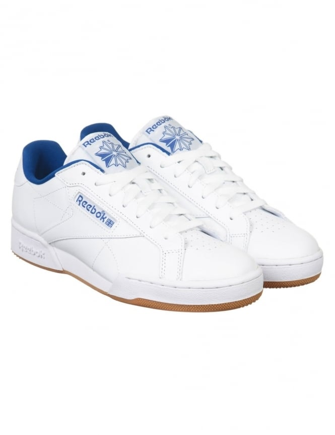 Reebok NPC UK II CP Shoes - White/Collegiate Royal/Gum