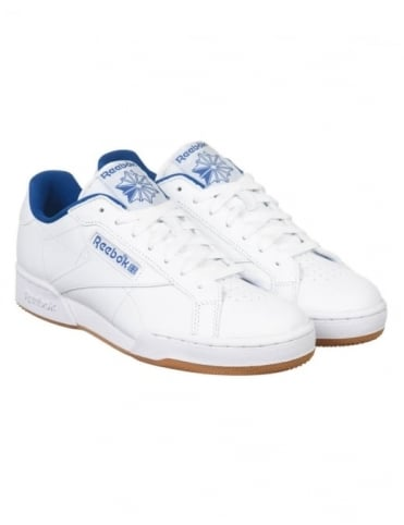 Reebok NPC UK II CP Shoes - White/Collegiate Royal/Gum