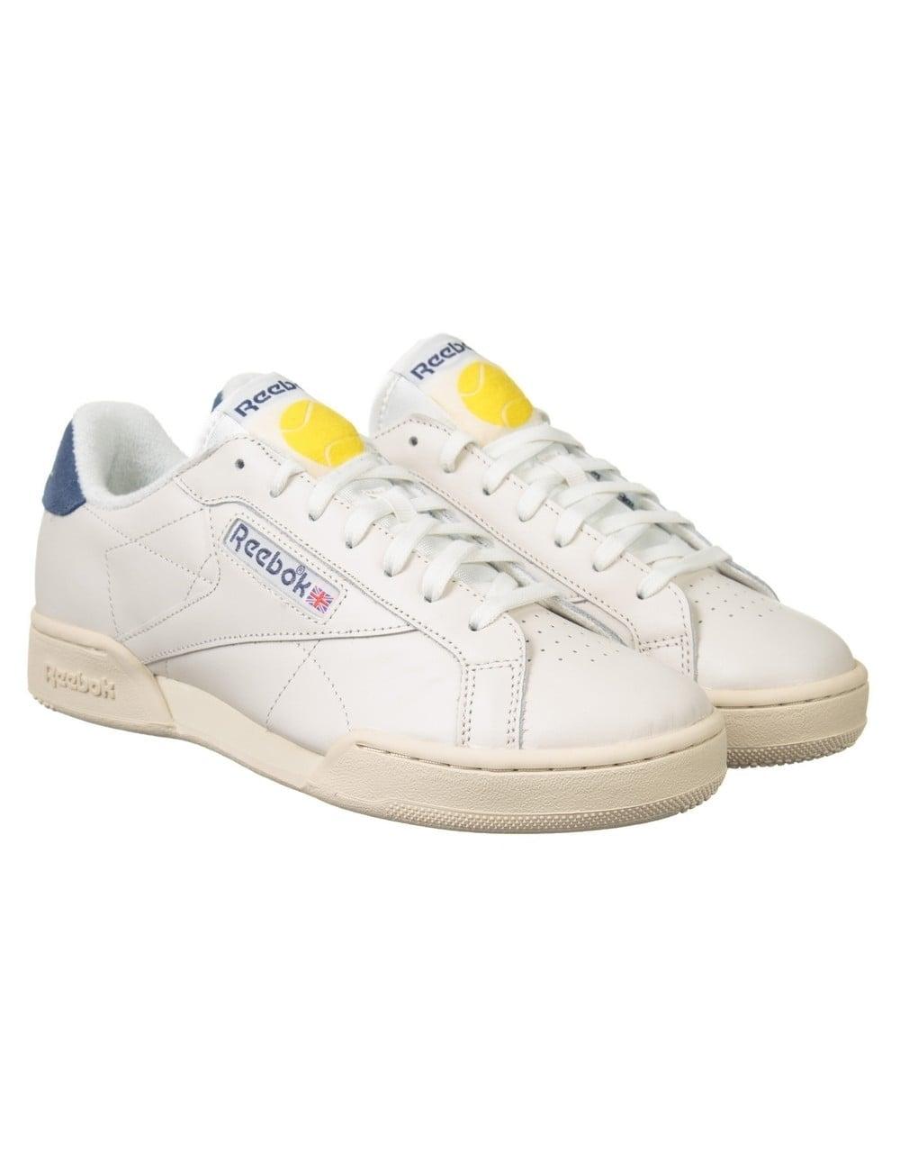 best service 37a5e a9e8b Reebok NPC UK II TB Shoes - Chalk Paper White