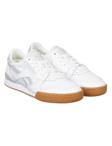 Reebok Phase 1 Pro CP Shoes - White/Ski