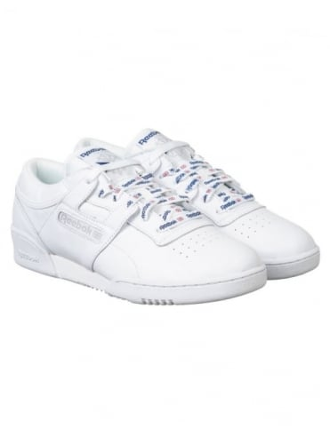 Reebok Workout Lo CL Nylon Shoes - White