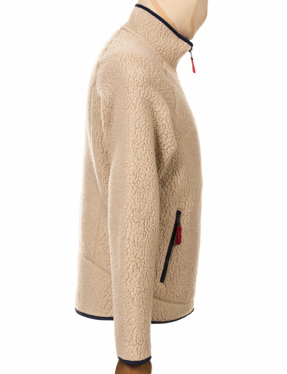 1ba210e7a Retro Pile Jacket - El Cap Khaki