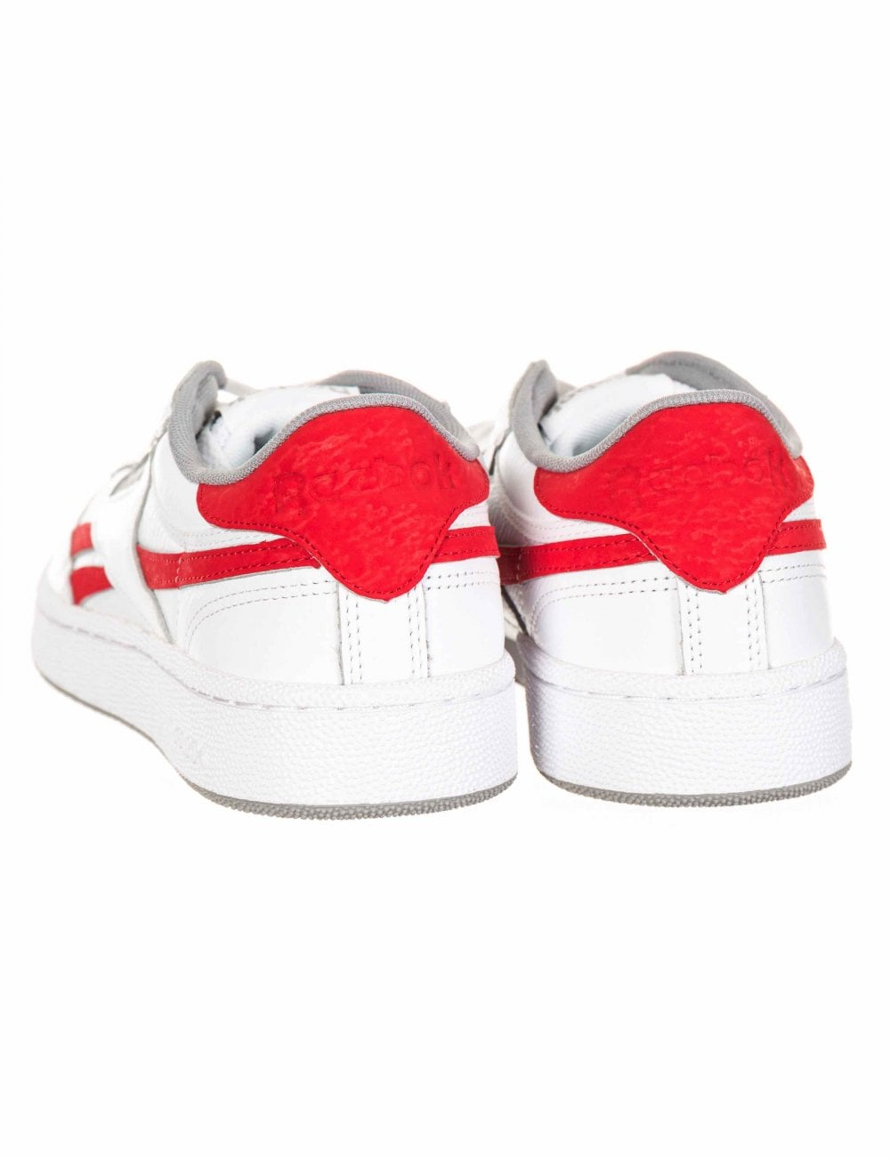 5aae3ffea5a83 Reebok Revenge Plus Trainers - White Primal Red - Footwear from Fat ...
