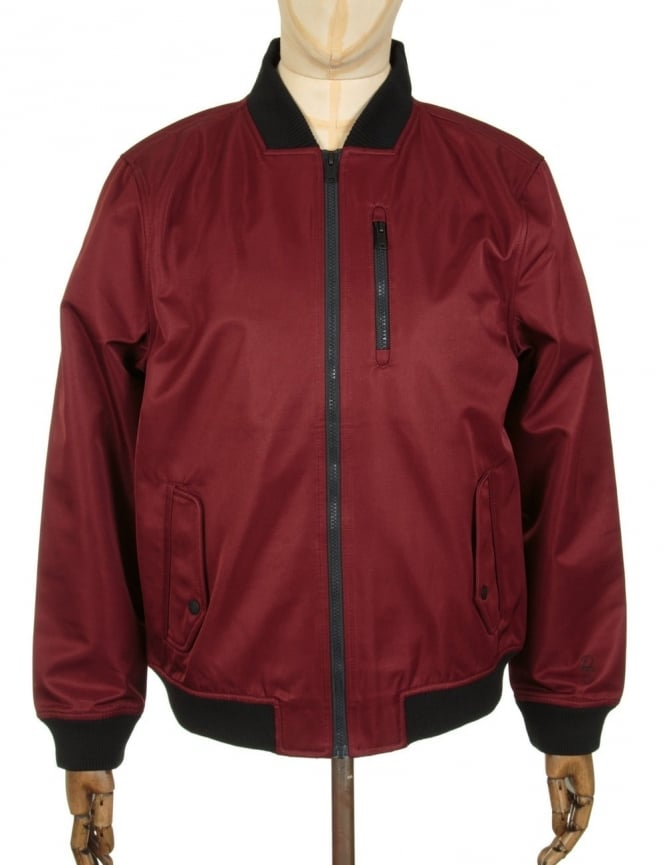Roamers and Seekers Ground 1 Jacket - Burgundy