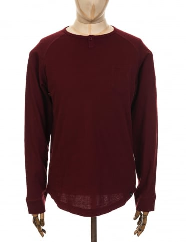 Roamers and Seekers Haul Henley T-shirt - Barolo