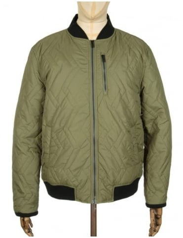 Roamers and Seekers Home Quilted Jacket - Moss Green