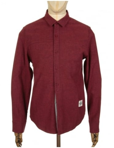 Roamers and Seekers Mineral Shirt - Burgundy
