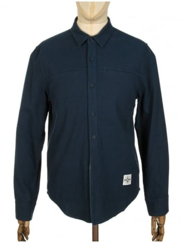 Roamers and Seekers Mineral Shirt - Nocturnal Blue