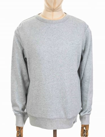 Perforate Sweatshirt - Lite Chambray
