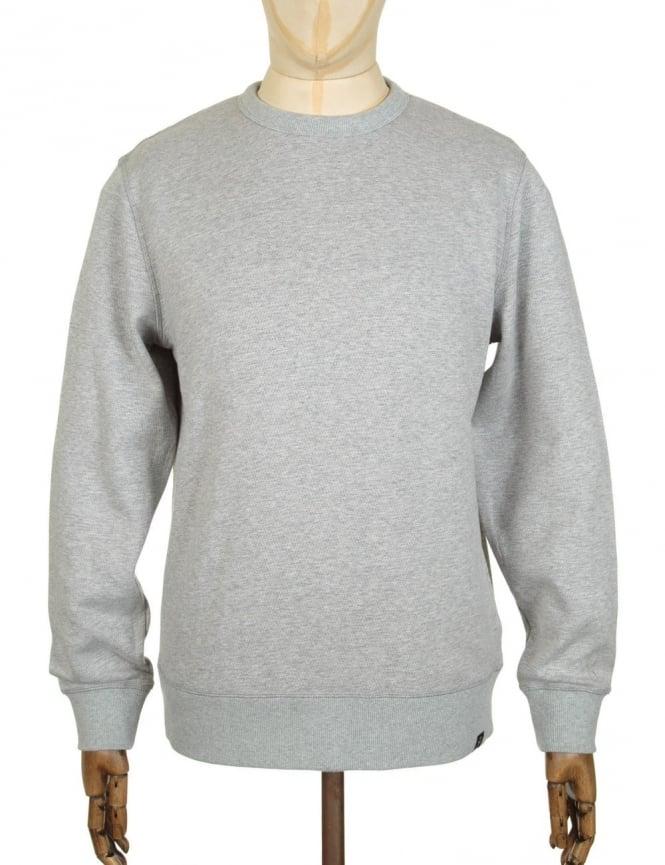 Roamers and Seekers Perforate Sweatshirt - Salt & Pepper