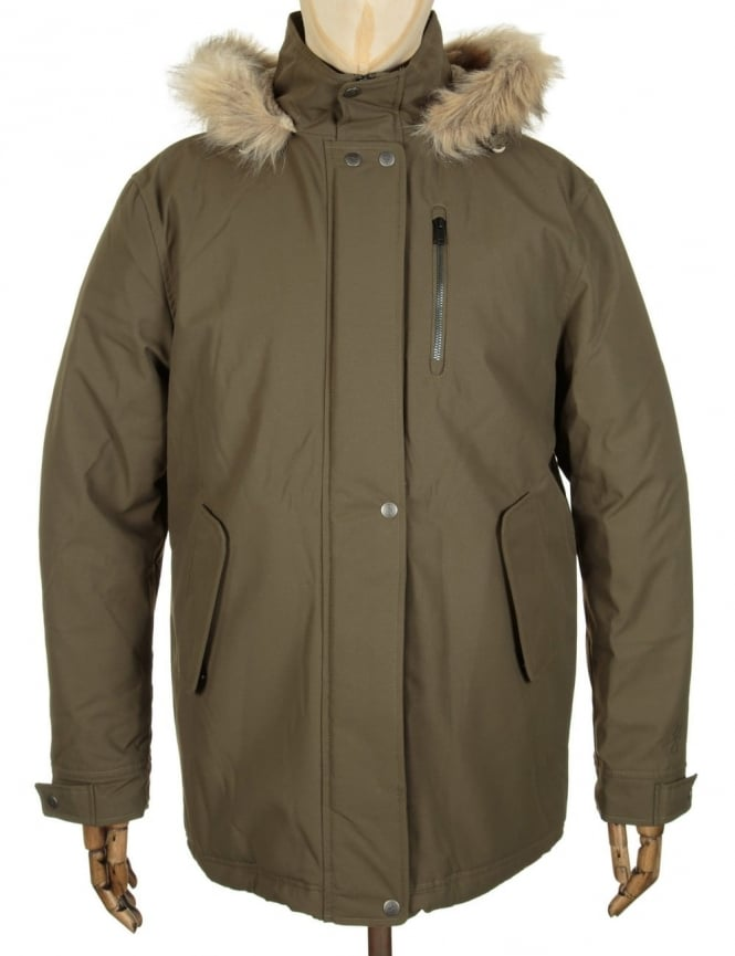 Roamers and Seekers Precision Parka Jacket - Olive