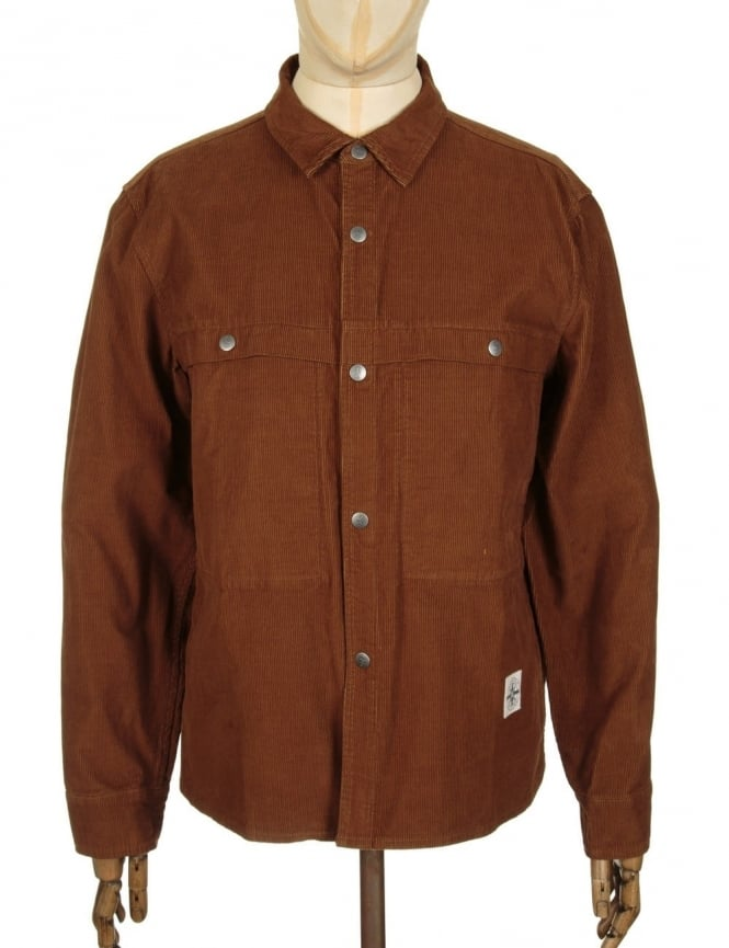 Roamers and Seekers Pressure Shirt - Tobacco