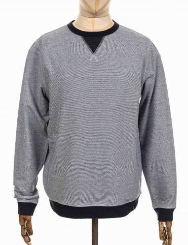 Recur Sweatshirt - Deep Denim Marl