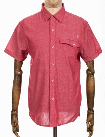S/S Demand Shirt - Blast Red