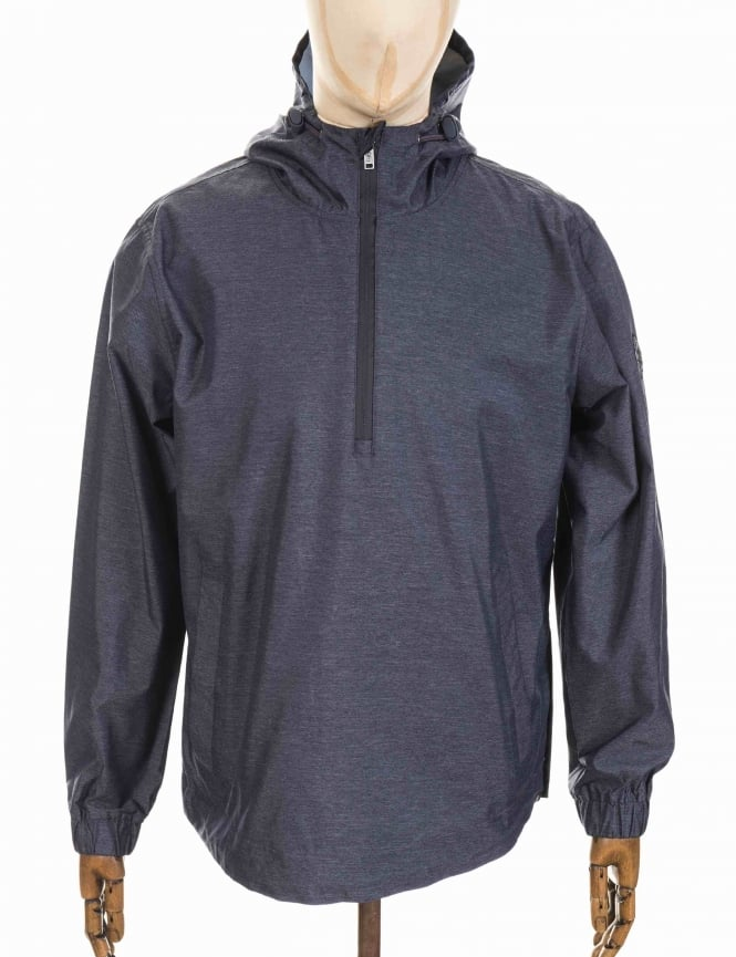 Roamers and Seekers Sportive Overhead Jacket - Deep Denim Marl