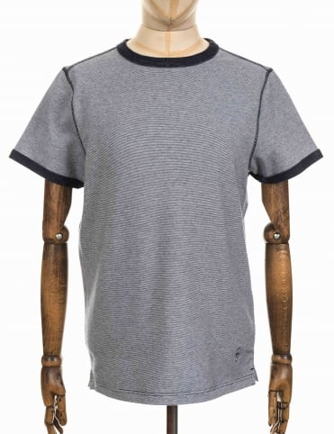 Strike Tee - Deep Denim Marl