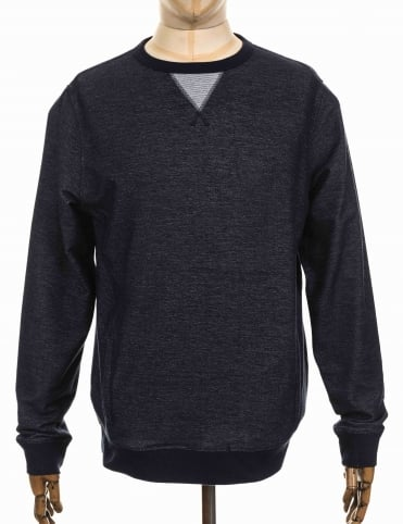 Trace Sweatshirt - Deep Denim Marl