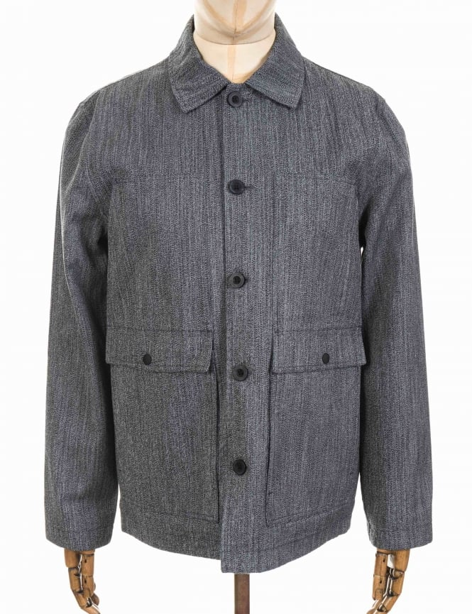 Roamers and Seekers Utility Jacket - Black Pepper Marl