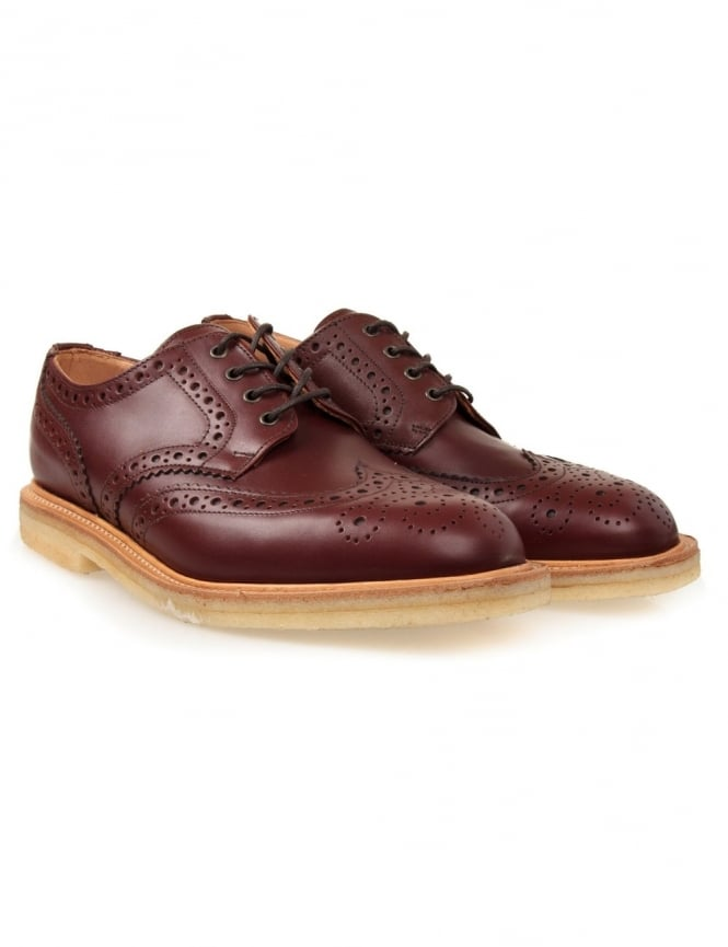 Sanders Alfie Shoes - Teak Brown