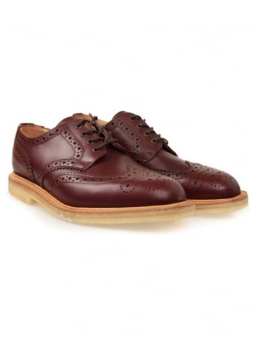 Alfie Shoes - Teak Brown