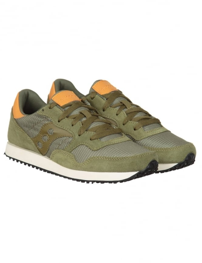 Saucony DNX Trainers - Olive