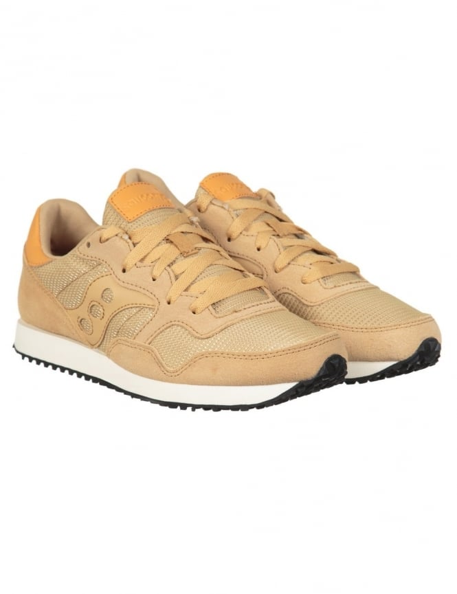 Saucony DXN Trainers - Tan