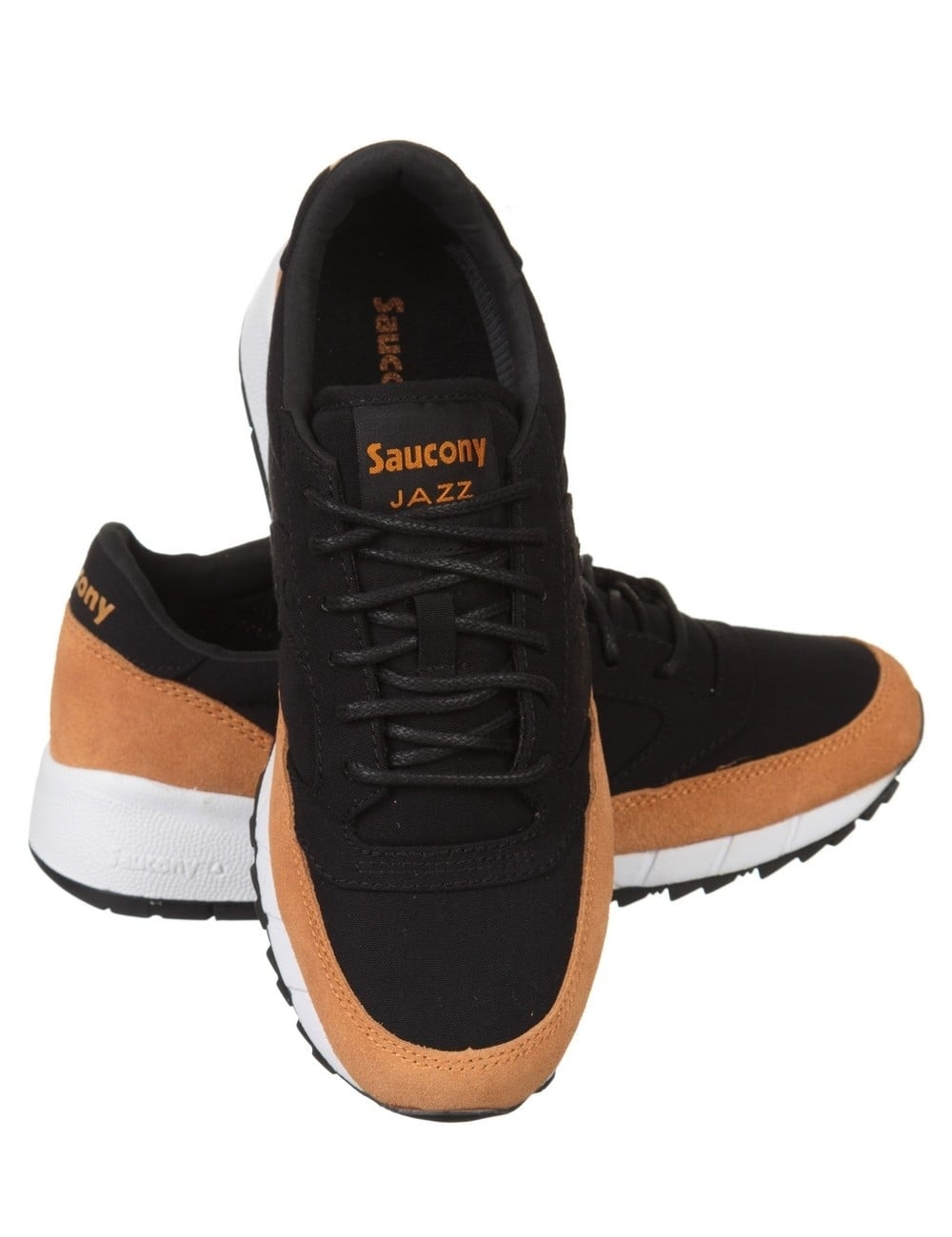 good service pretty cheap new specials Saucony Jazz '91 Shoes - Black/Yellow - Footwear from Fat Buddha ...