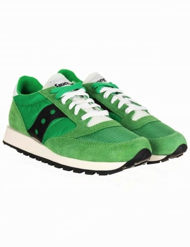 Jazz Original Vintage Shoes - GreenWhite