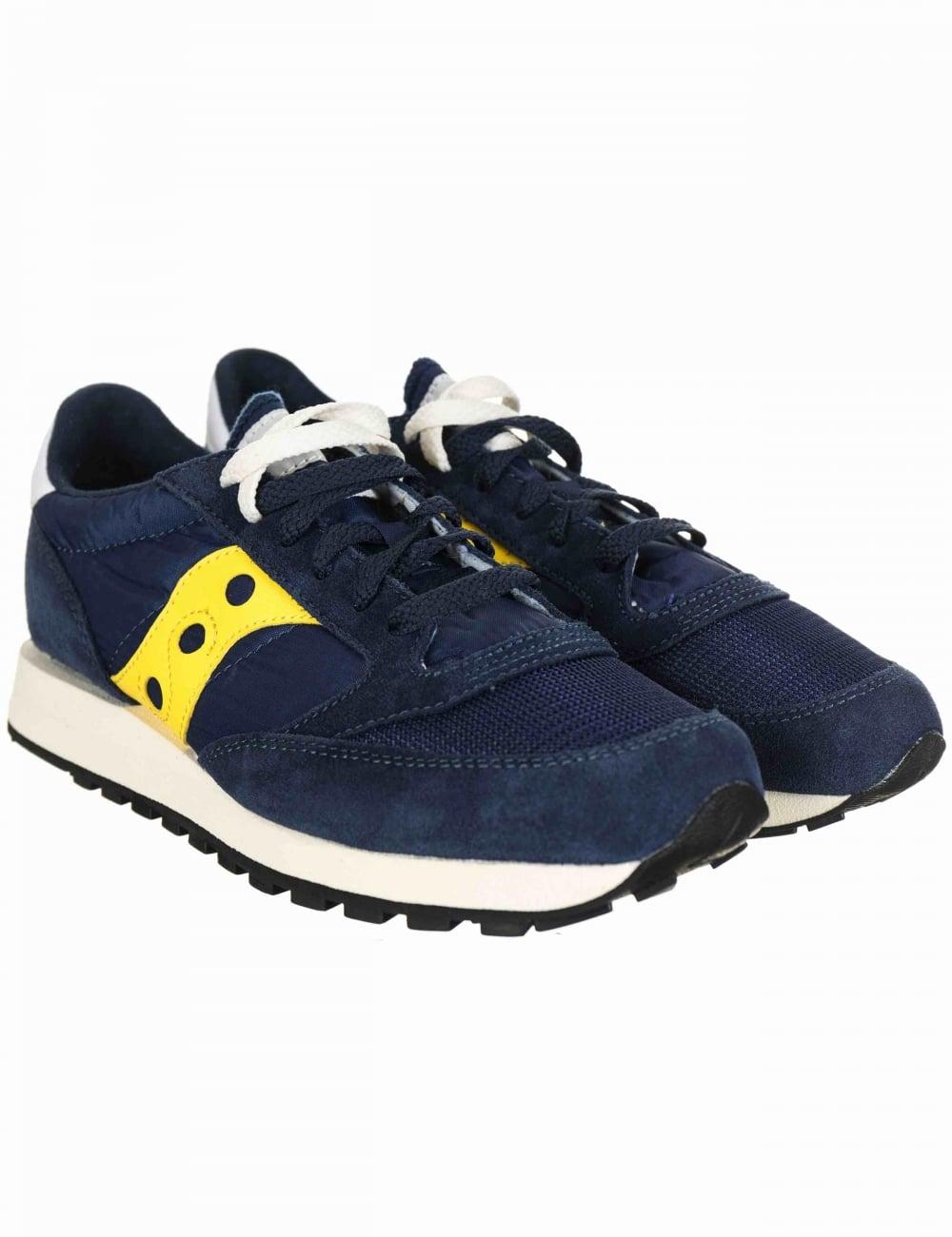 online store fce90 1edab Jazz Original Vintage Shoes - Vintage Blue/Yellow
