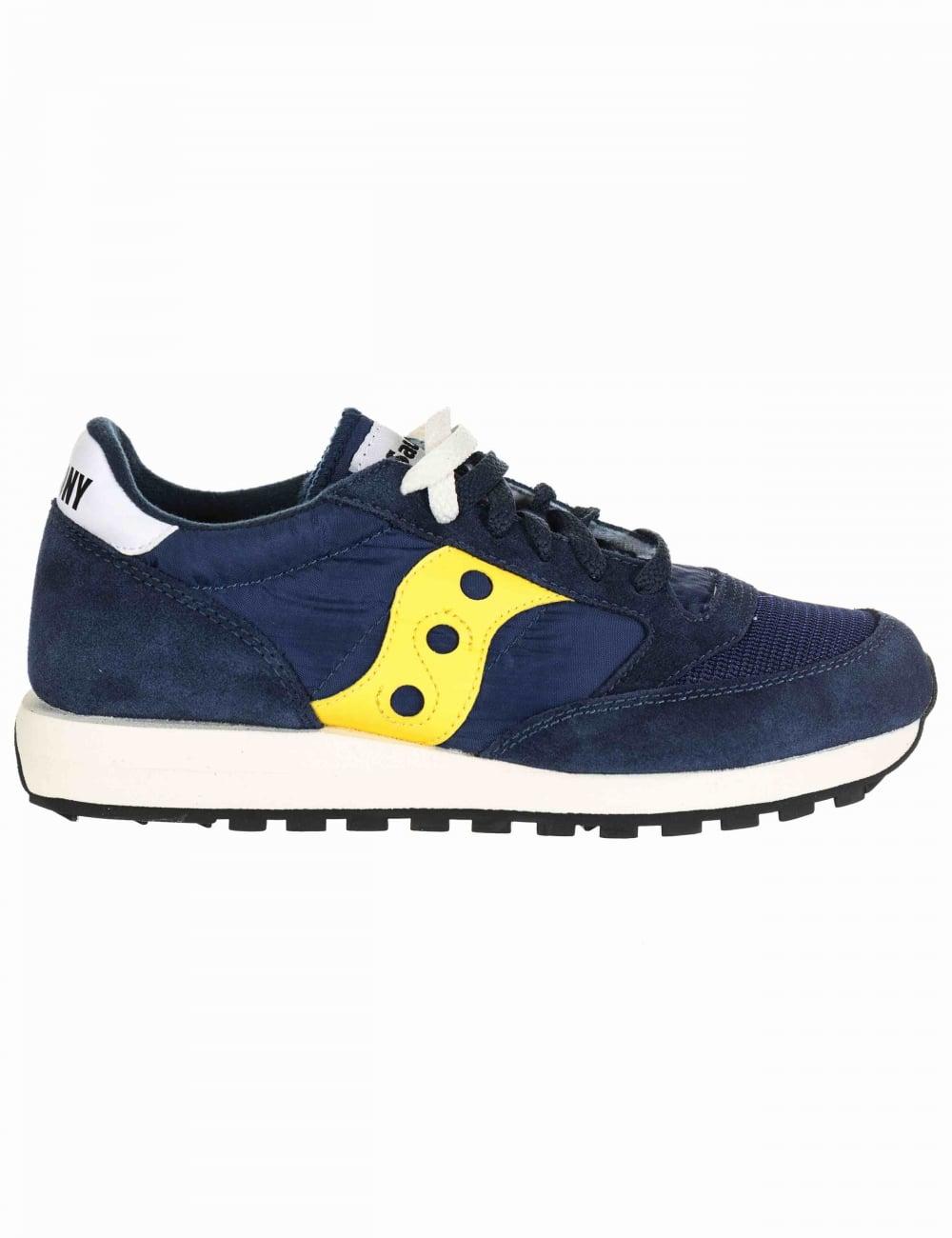 online store 94ceb 4c369 Jazz Original Vintage Shoes - Vintage Blue/Yellow