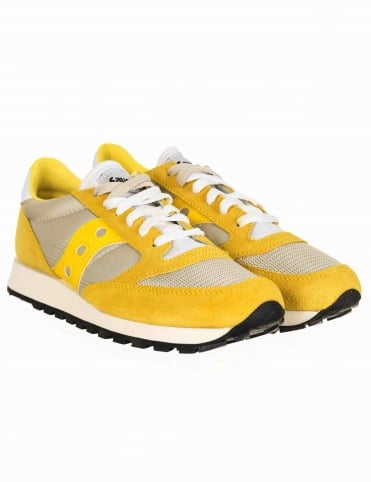 Jazz Original Vintage Shoes - Yellow/White