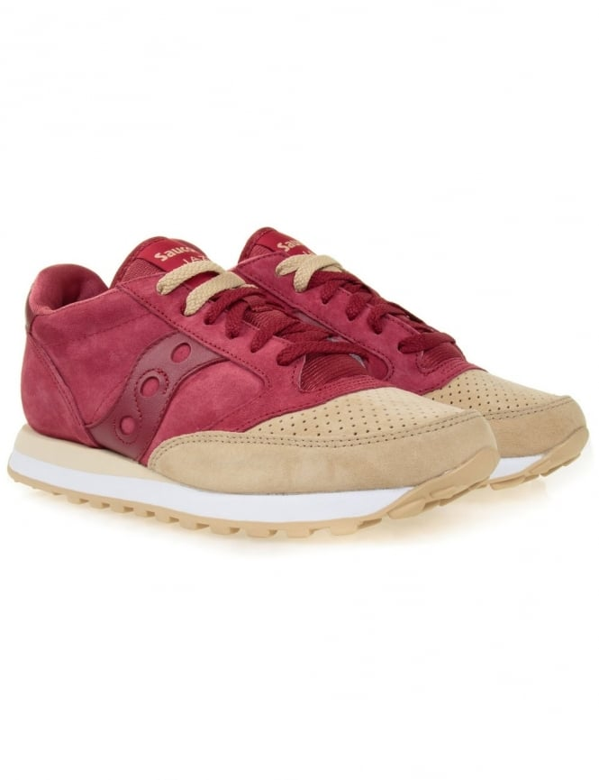 Saucony Jazz Premium - Red/Sand