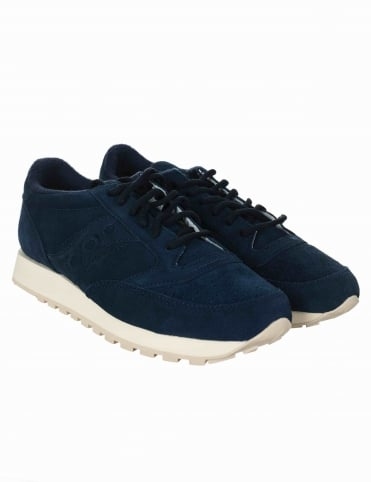 Saucony Jazz Premium Shoes - Navy