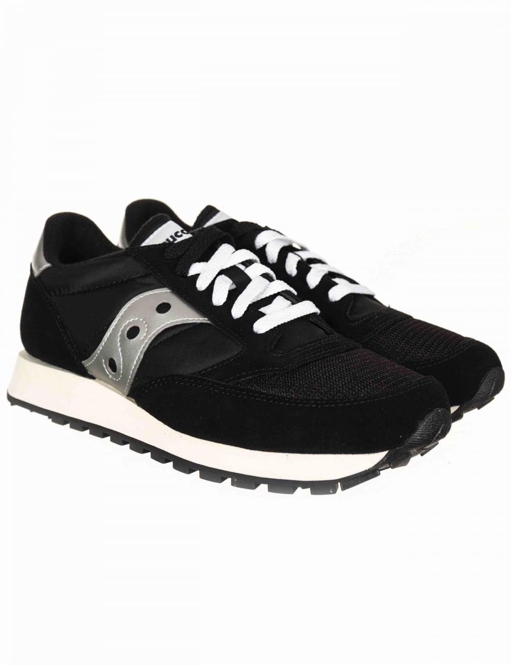 separation shoes 9d6e4 93fce Jazz Vintage OG Trainers - Black/White