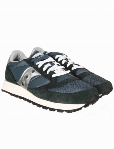 Jazz Vintage OG Shoes - Blue/Navy/Silver