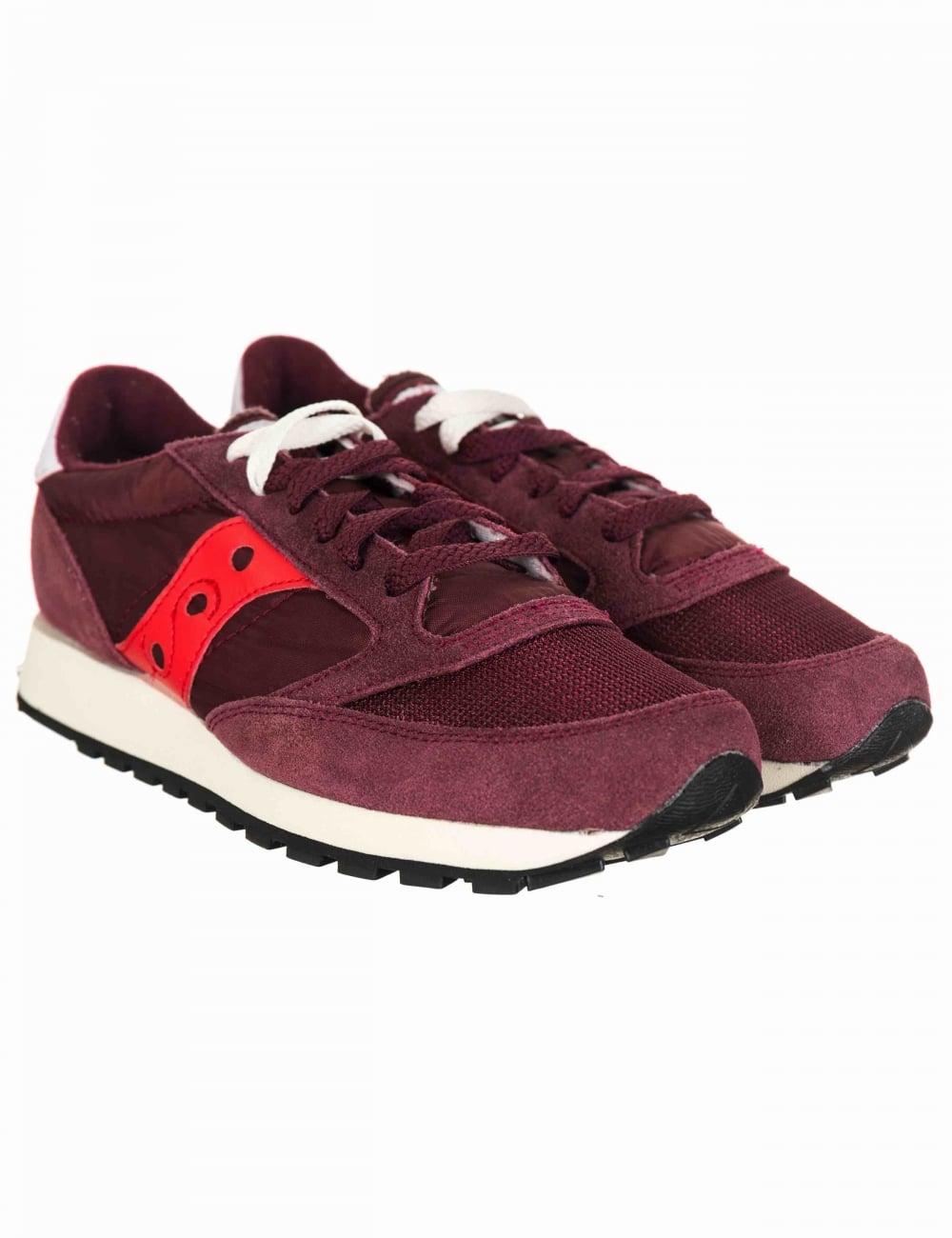 separation shoes fdd3e 52c4c Jazz Vintage OG Shoes - Vintage Burgundy/Red