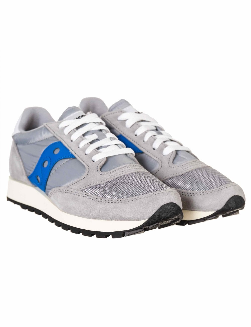 buy online e76c6 27ddd Jazz Vintage OG Trainers - Grey/Blue